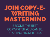 Join 1200+ Budding Copywriters For FREE Modern Copywriting Tips & Advice, eBooks & Gifts, Interviews And Much More.