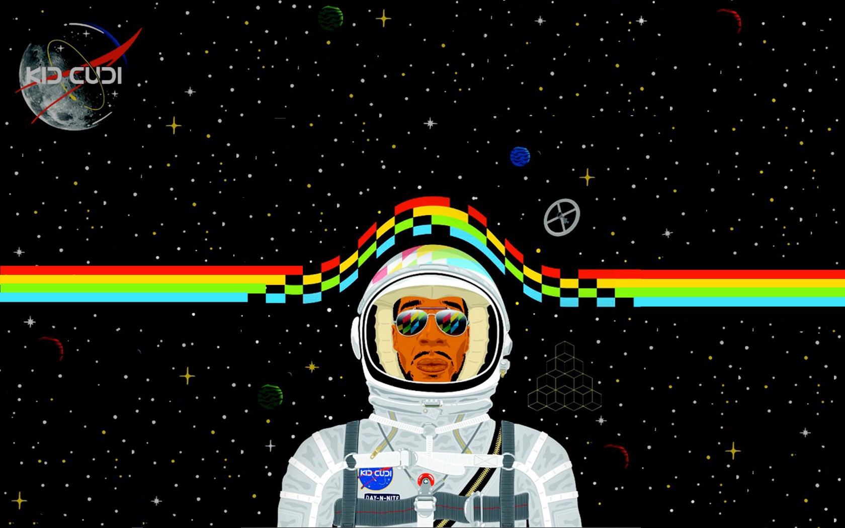 Kid Cudi Went To The Moon Several Years Ago He Hasnt Been Quite Same Since Photo Paper4pc