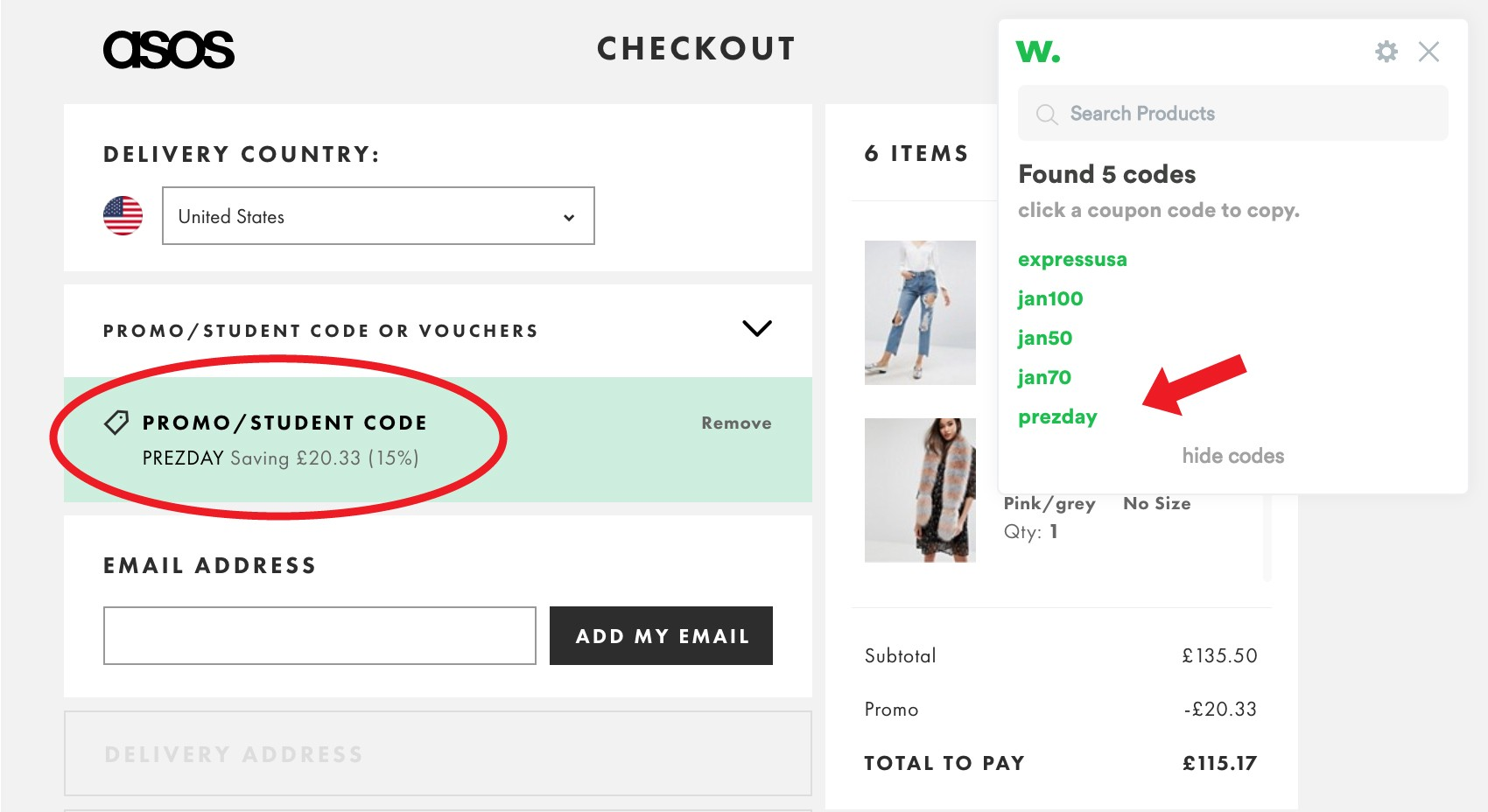 Heres the best way to shop at asos wikibuy shop at asos madewell revolve urban outfitters or pretty much anywhere else when you checkout this genius chrome extension finds the best coupon codes fandeluxe Choice Image