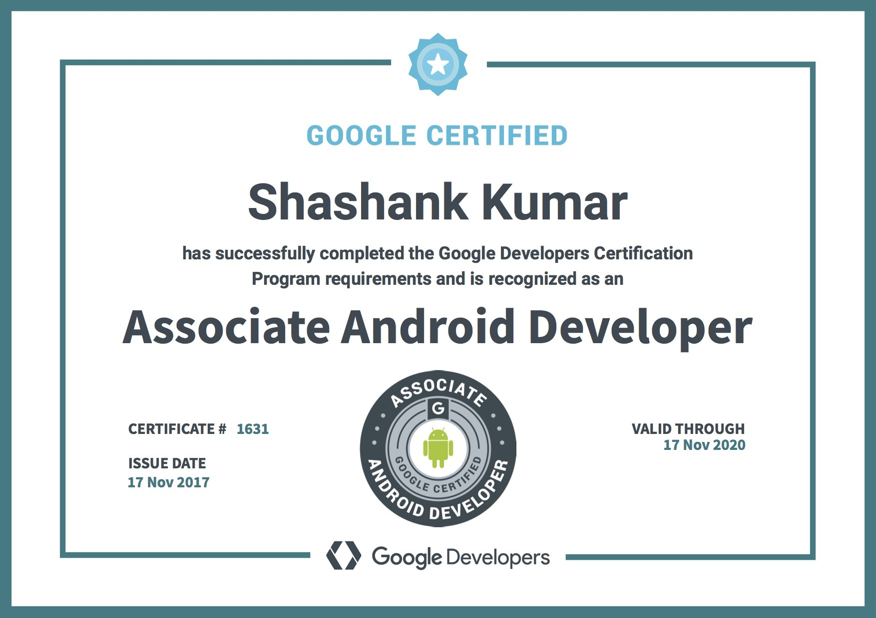 How I became Youngest Associate Android Developer – Shashank kumar ...