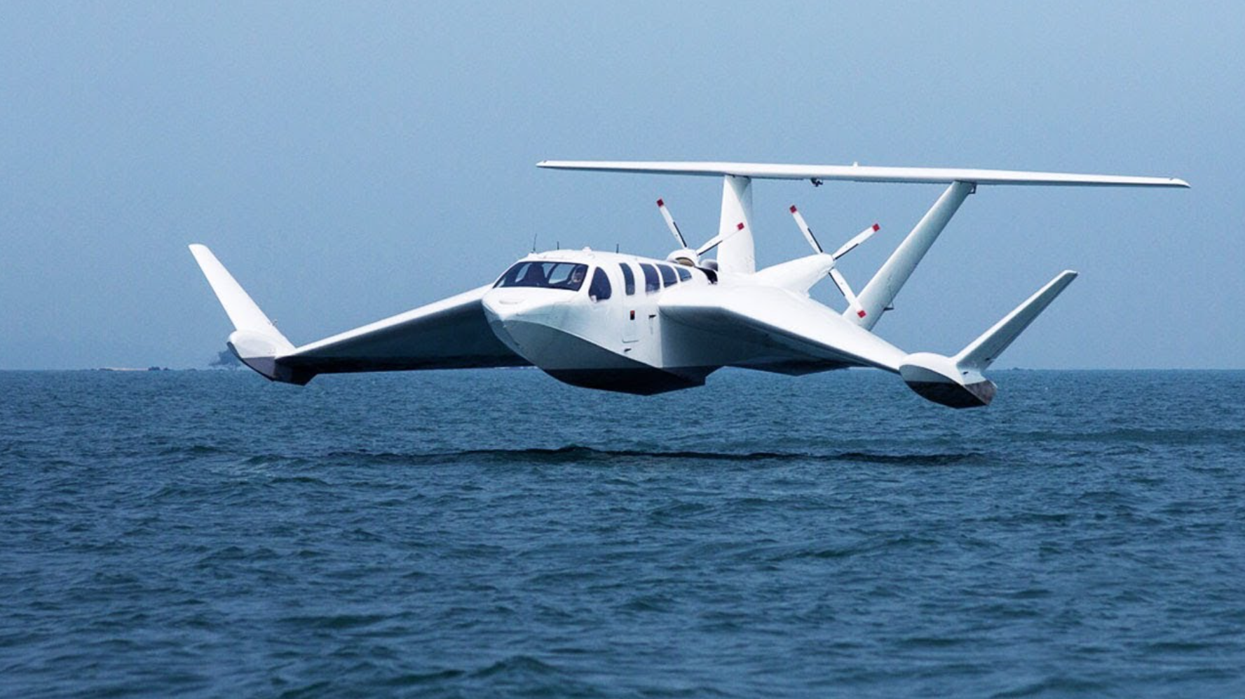 One-Hour Delivery Powered By Ground-Effect Electric Aviation