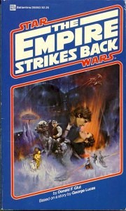 Empire strikes back book