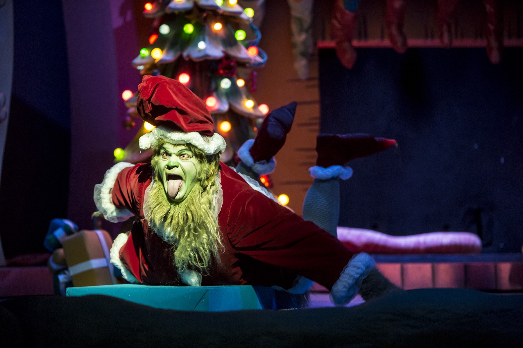 Cast Announcement for Dr Seusss How the Grinch Stole Christmas