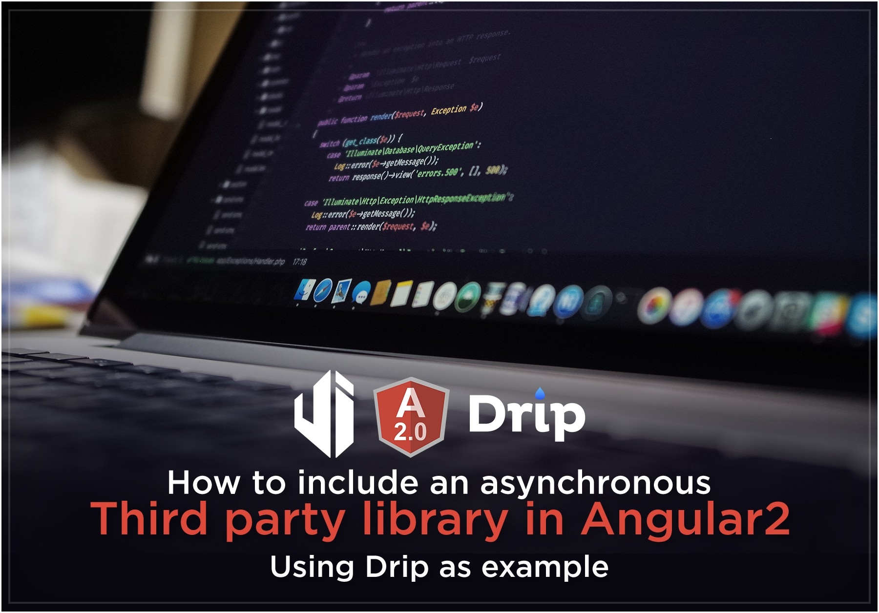 how to include an asynchronous third party library in angular2