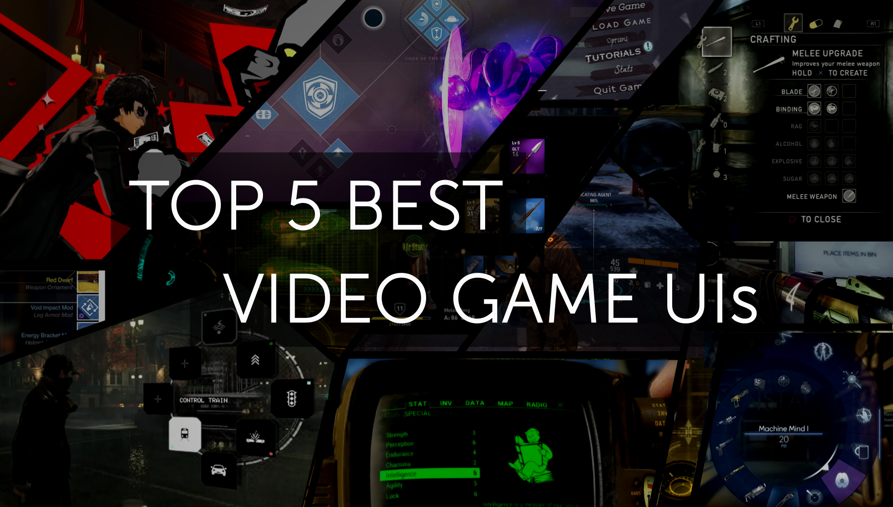 Top 5 best video game uis akhil dakinedi medium the ui of a video game is one of the least likely things about it to leave a lasting impression on you youll likely remember the tense atmosphere ccuart Images
