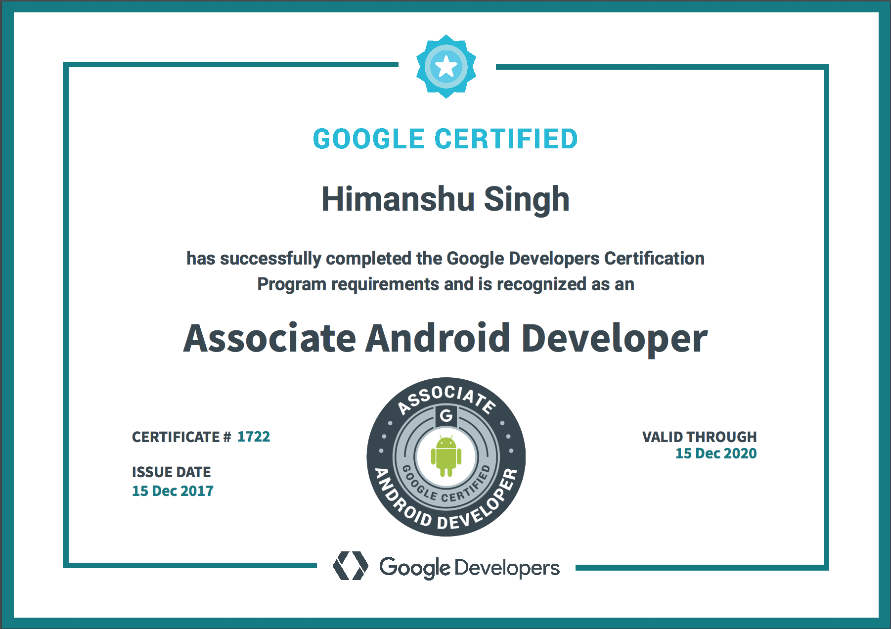 From Noob To Google Certified Associate Android Developer