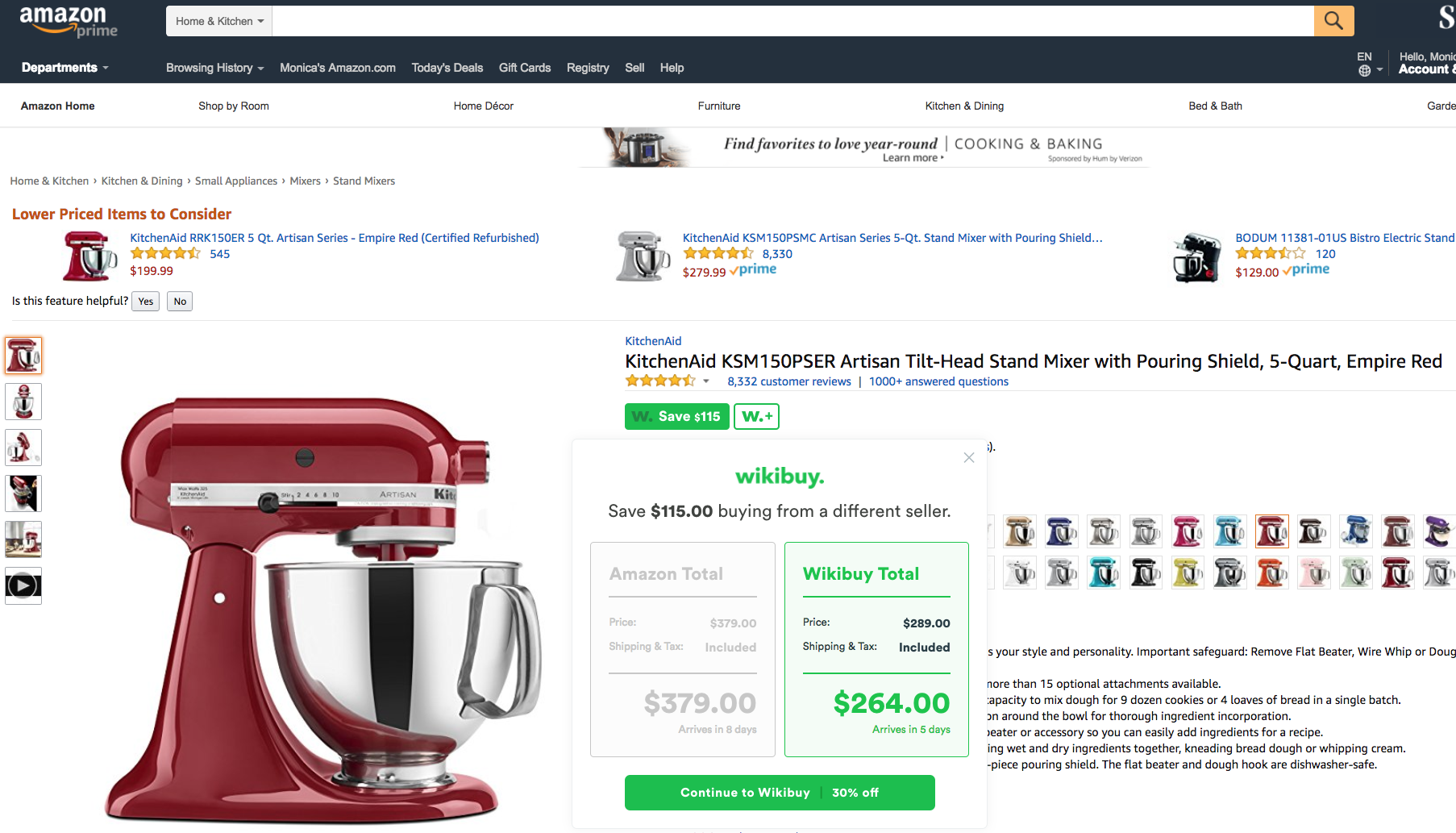 The genius trick every pottery barn shopper should know wikibuy wikibuy automatically checks other sellers for a better price including sales tax shipping a notification will appear in seconds if a better fandeluxe Gallery