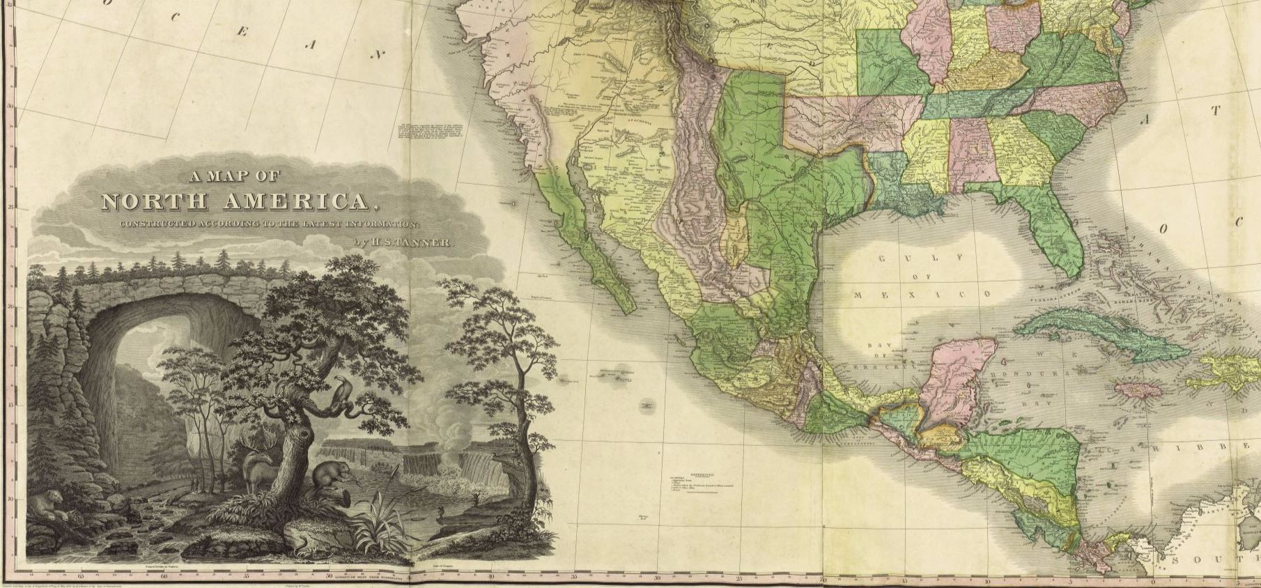 A Map of North America Constructed According