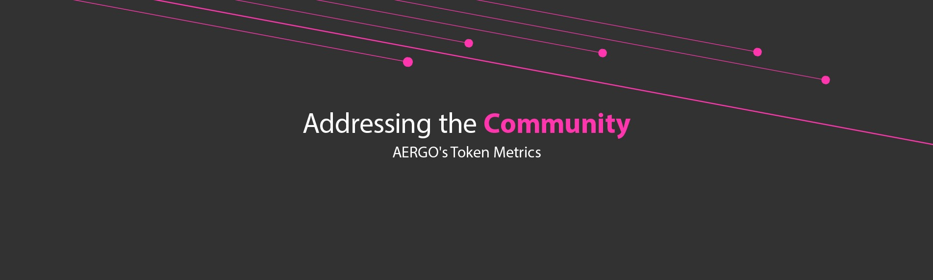 addressing the community aergo s token metrics aergo medium