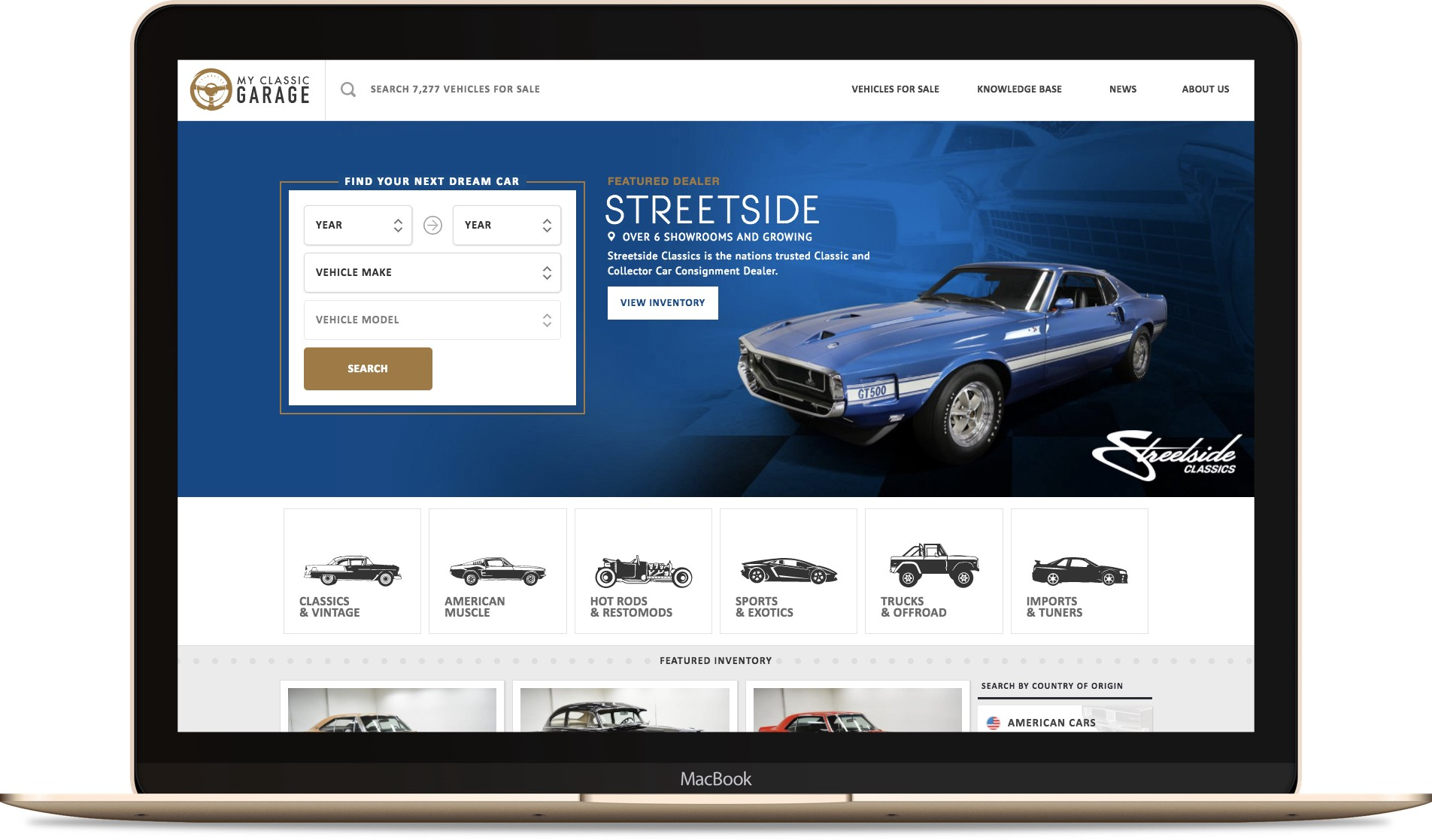 Speed Digital\'s New My Classic Garage Aims to Take Over Top Spot ...