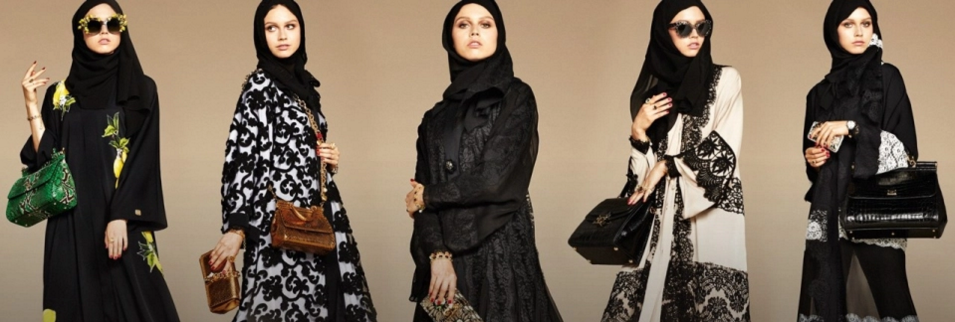 Dolce Gabbana Launches Abayas and Hijabs for Arab Women