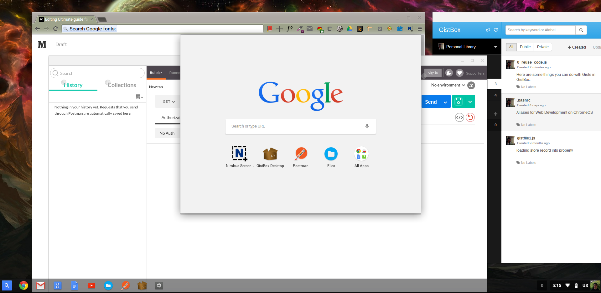 Ultimate Guide For Web Development On Chromebook €� Part 2: Chromeos Tricks  And Workflows