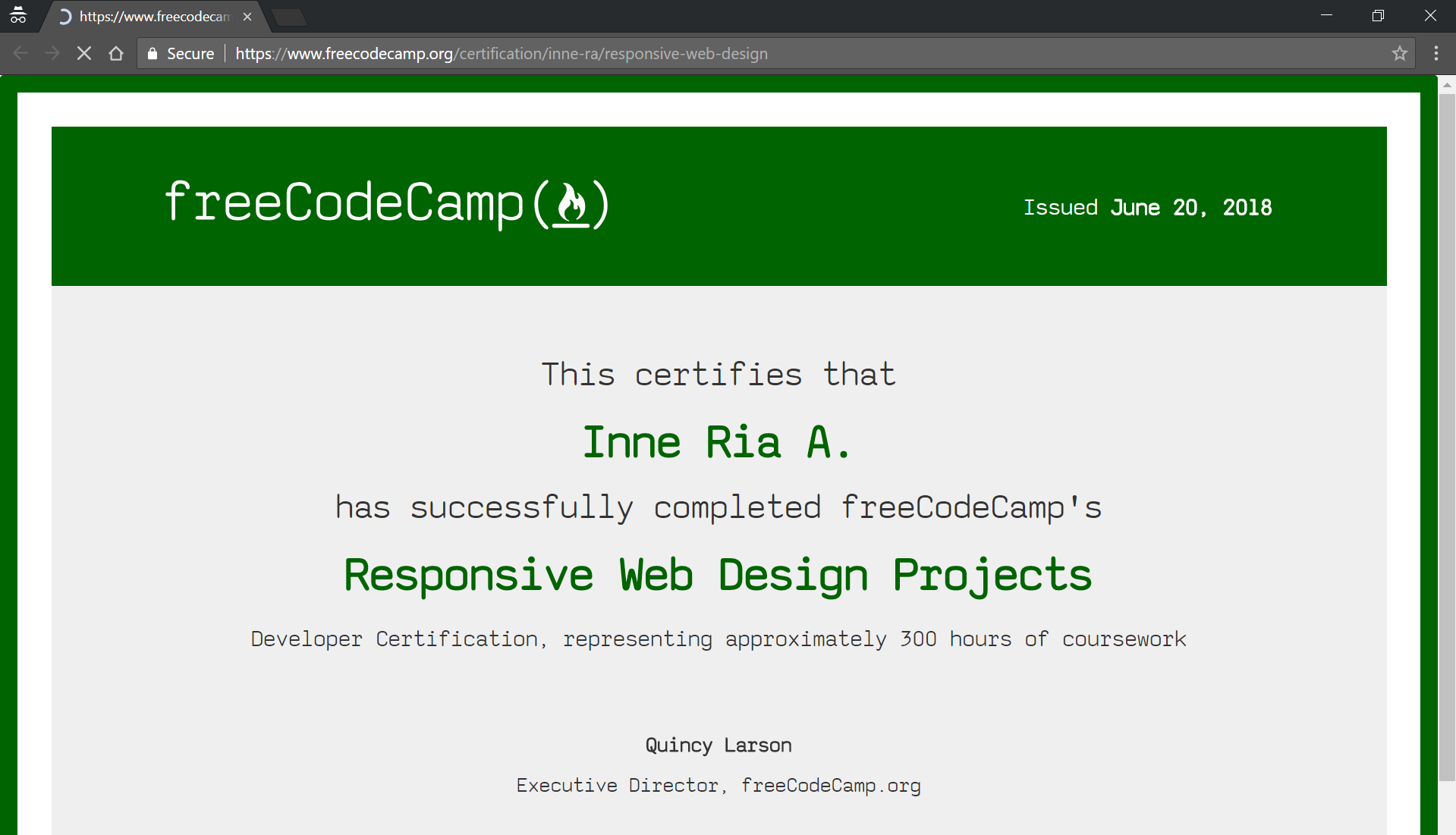 Day 45 Of 100daysofcode How To Claim Your Certificate On Freecodecamp