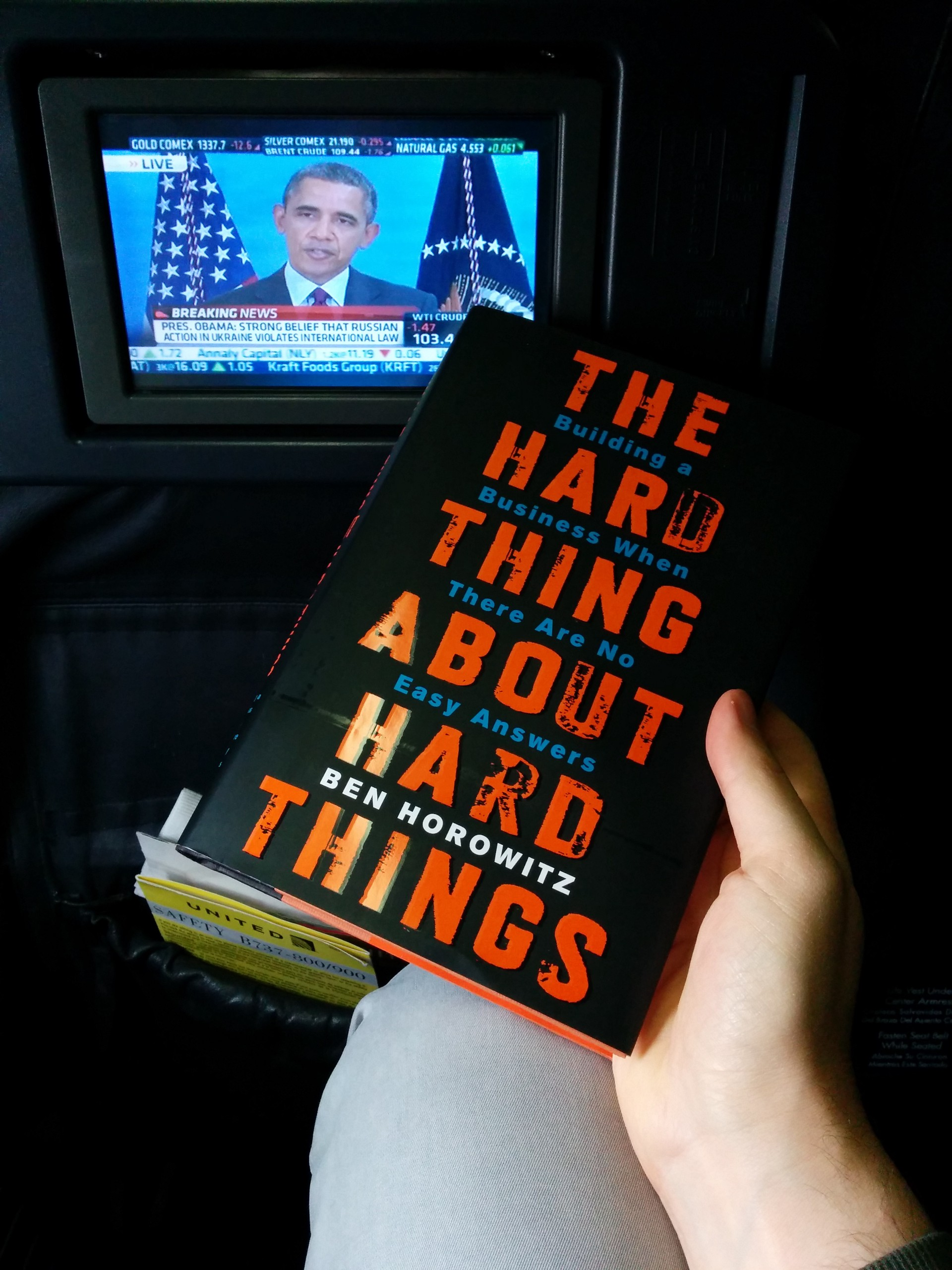the ugly thing about the hard thing about hard things