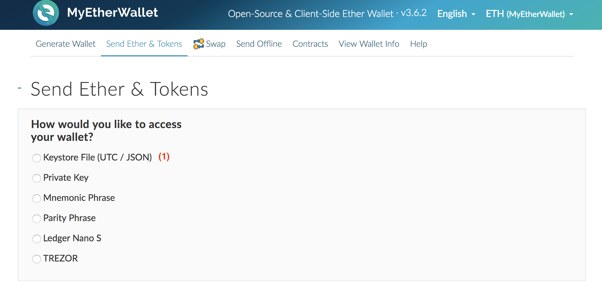 using myetherwallet mew for erc20 tokens like trustcoins trst