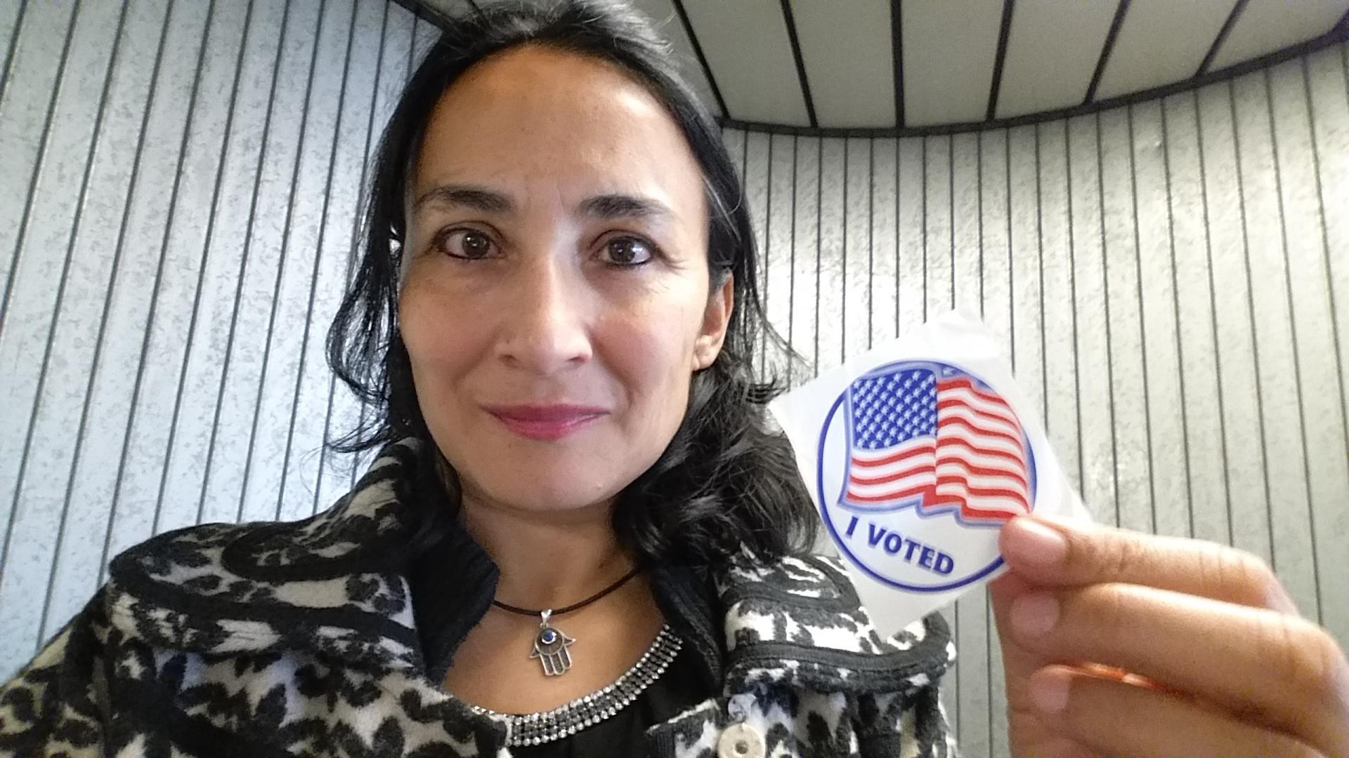 Im a muslim a woman and an immigrant i voted for trump ccuart Choice Image