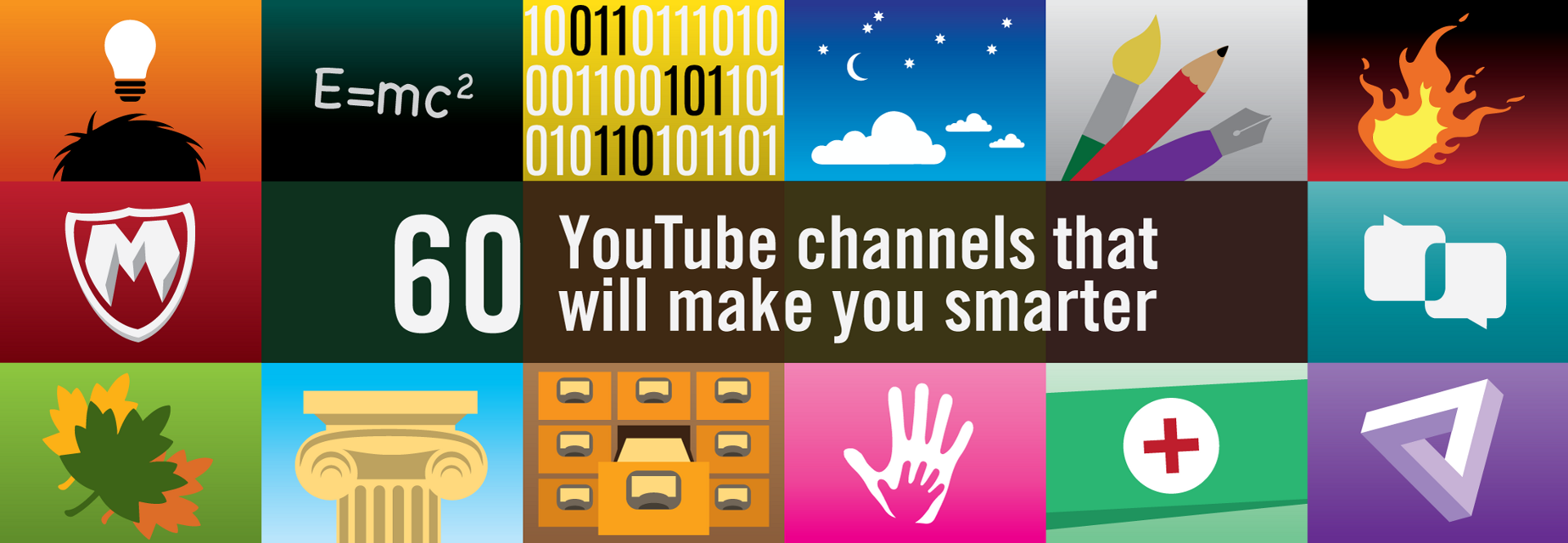 60 YouTube channels that will make you smarter – The Graph – Medium