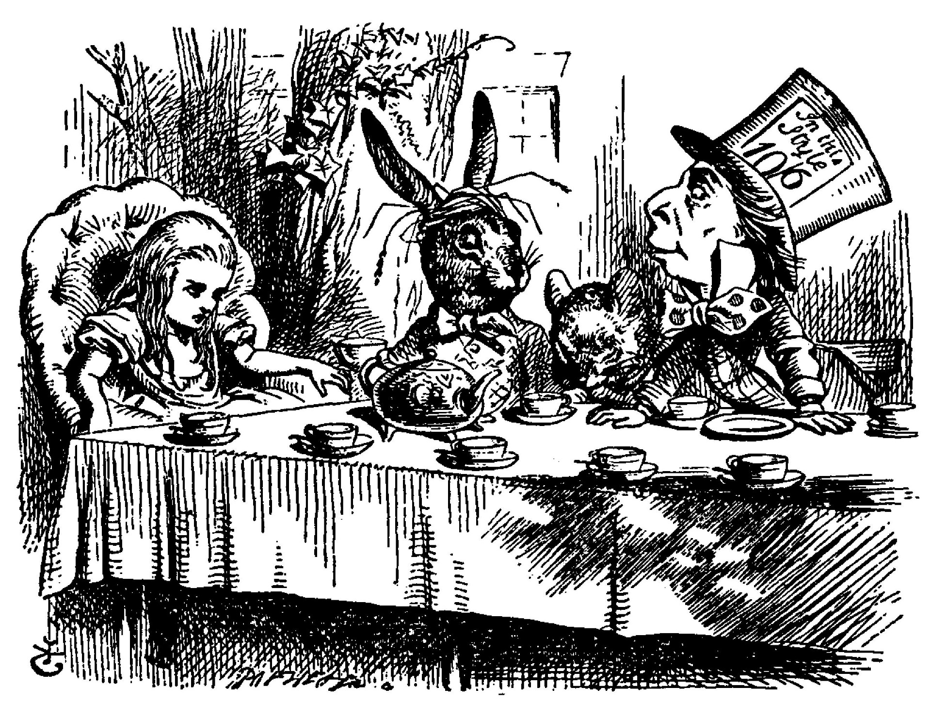 Alice'-s Adventures in Wonderland (1866)/Chapter 3 - Wikisource ...