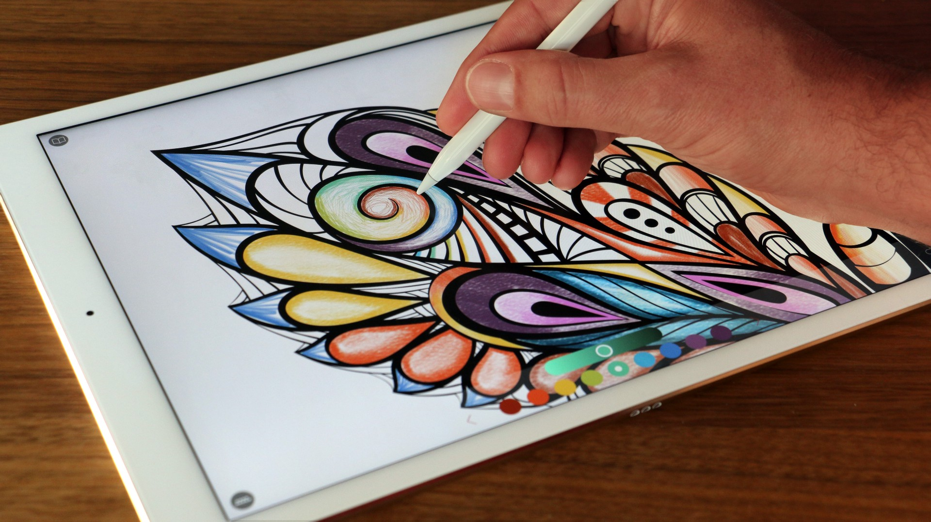 The ONLY true coloring book experience on iOS — Pigment 1.0