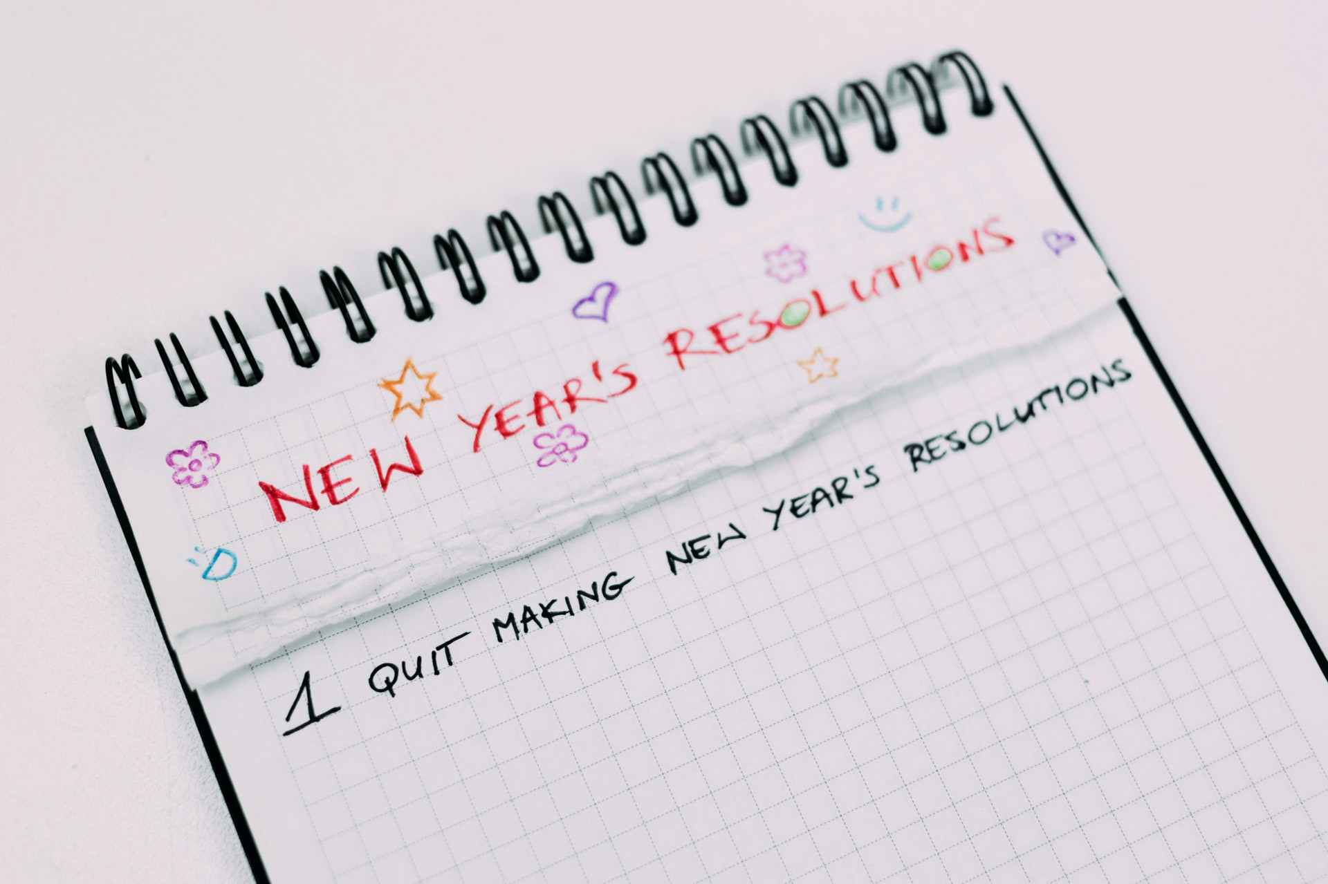 New Years Resolutions Are A Waste Of Time Gid M K Health Nerd Medium