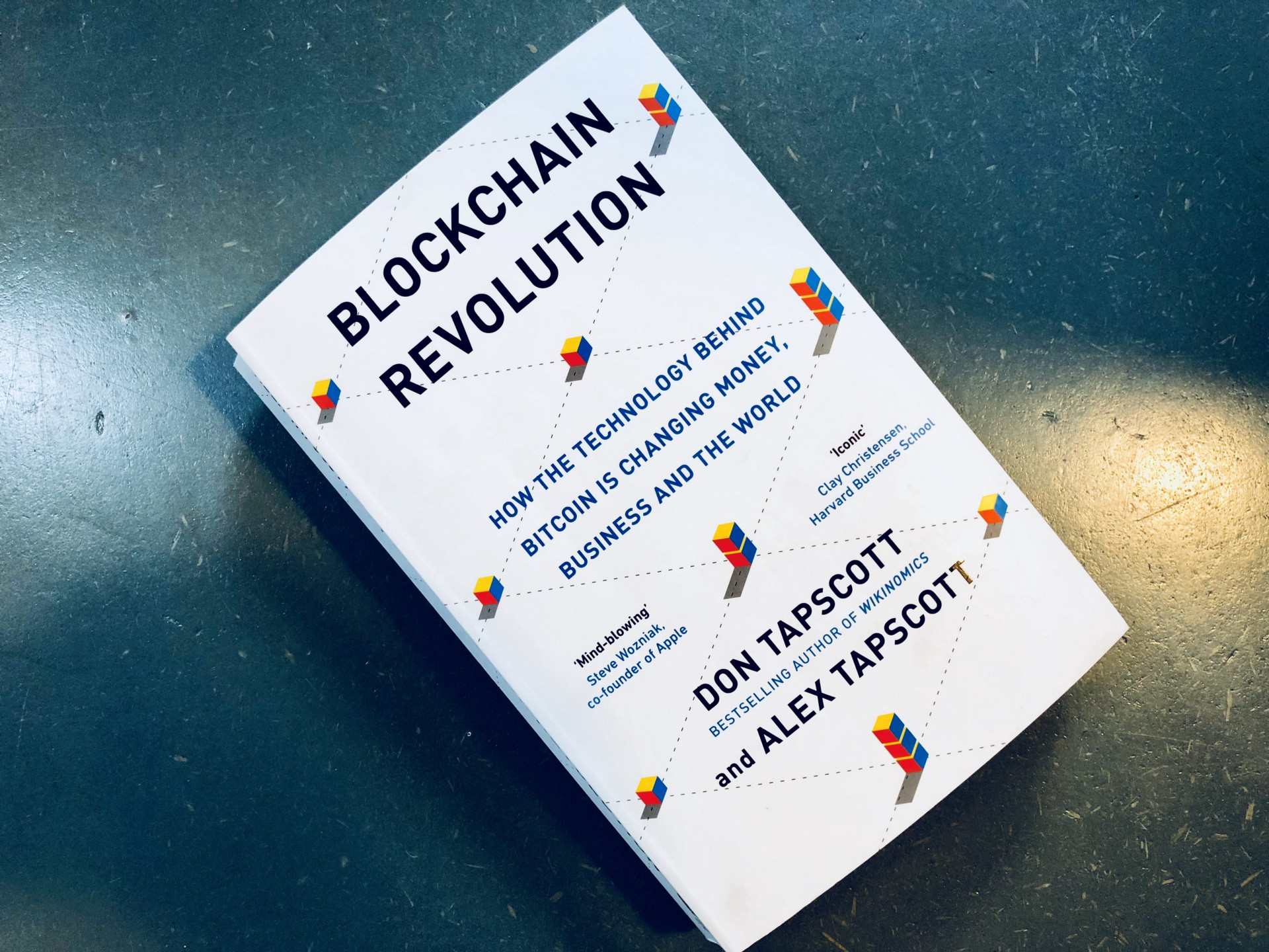 A few thoughts on \'Blockchain Revolution\' by Don and Alex Tapscott