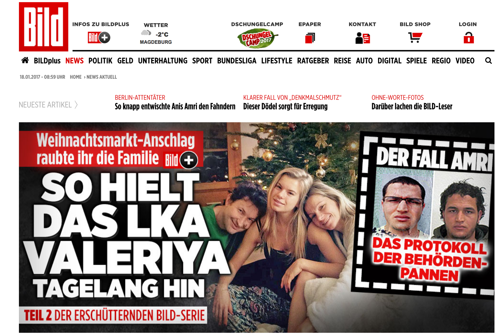 The News Values of the Bild Front Page – Inside the News Media – Medium