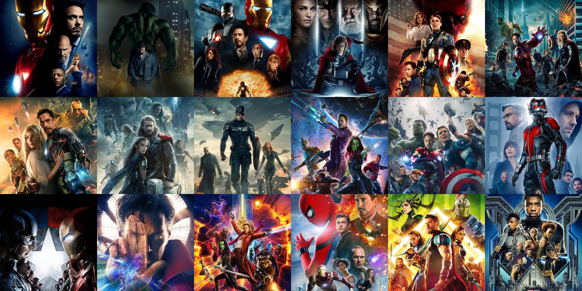 the conclusive ranking of all movies in the marvel cinematic universe