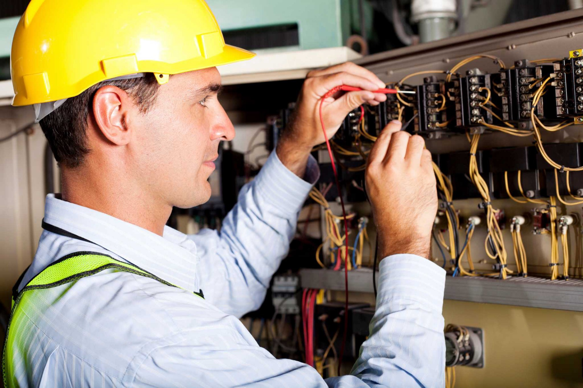 house rewiring test and inspection electrician services in london rh medium com Best Electrician Services in NYC Electrician Working
