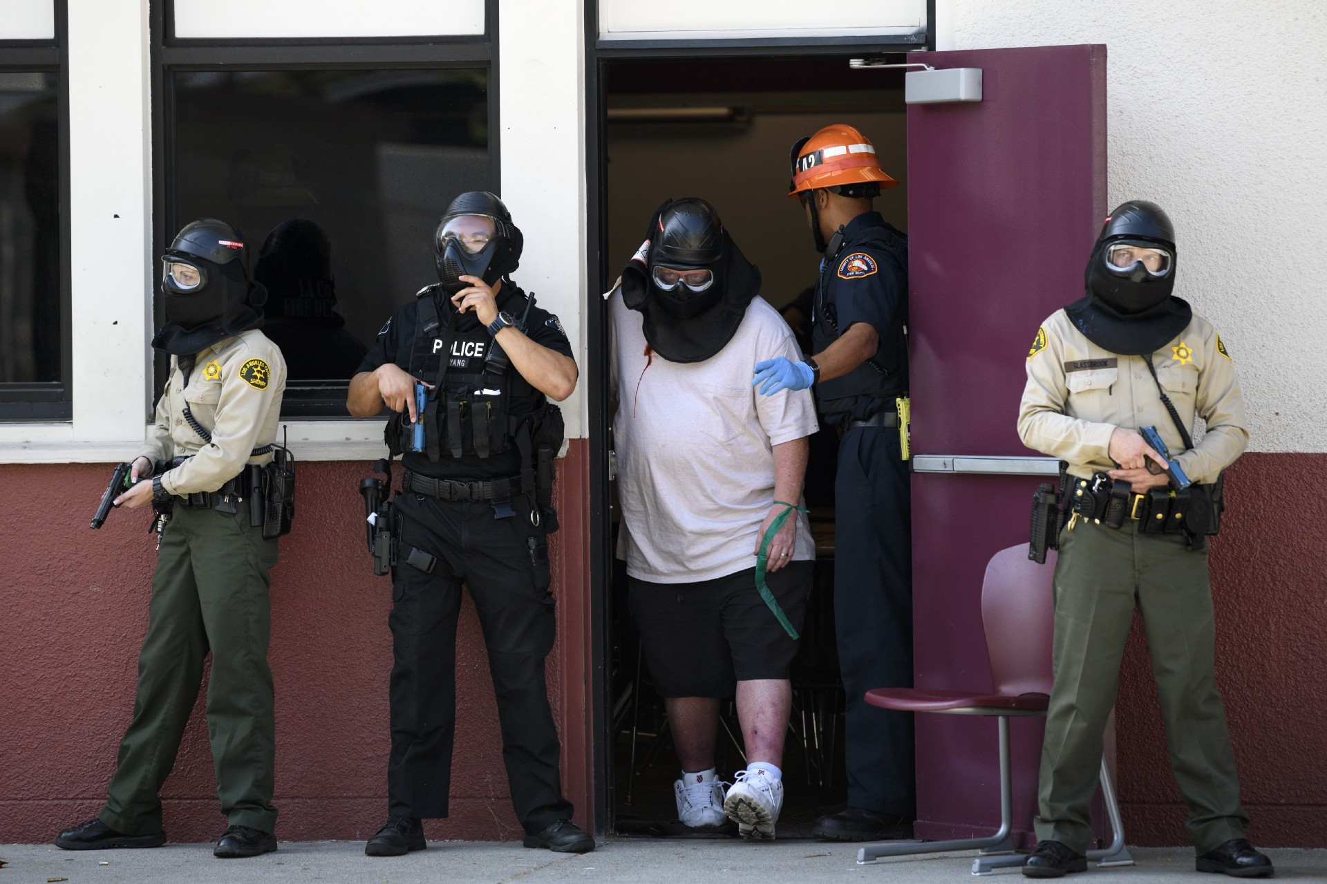 How Active Shooter Drills Became A Big And Possibly Traumatizing  How Active Shooter Drills Became A Big And Possibly Traumatizing Business Business Strategy Essay also Proposal Essay Sample  Example Of An Essay Paper