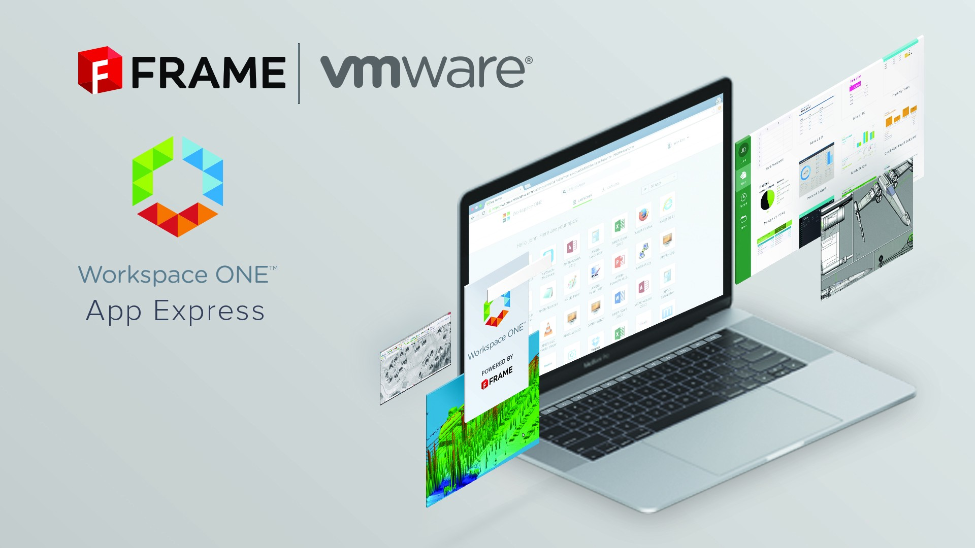 rapidly deploy and stream fullfledged windows from the cloud and it is seamlessly integrated with other workspace one features