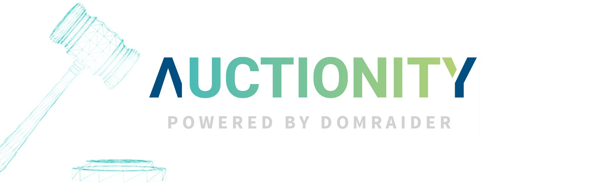 domraider group is pleased to present the initial version of its blockchain powered auctions solution under the new brand name auctionity