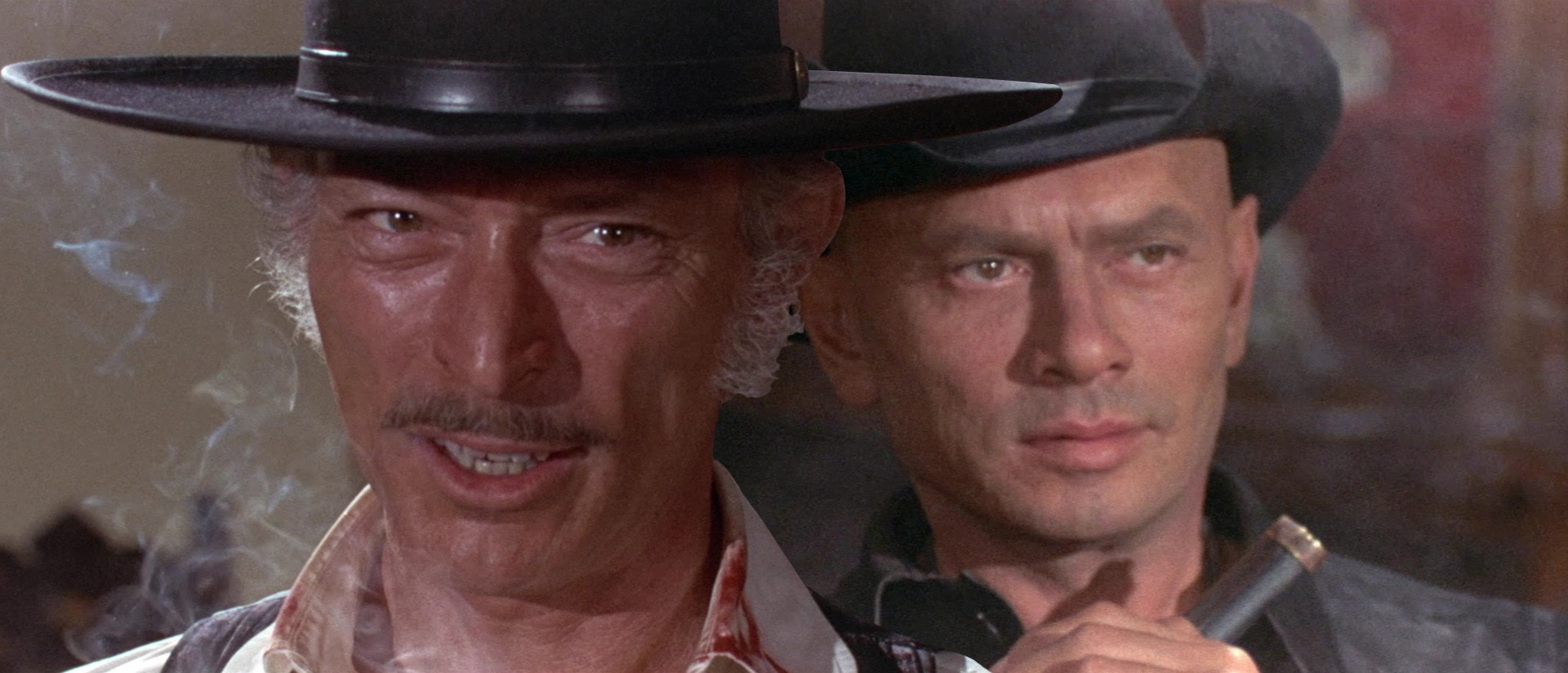 Yul Brynner \u0026 Lee Van Cleef Tag-Team ADIOS, SABATA and RETURN OF ...
