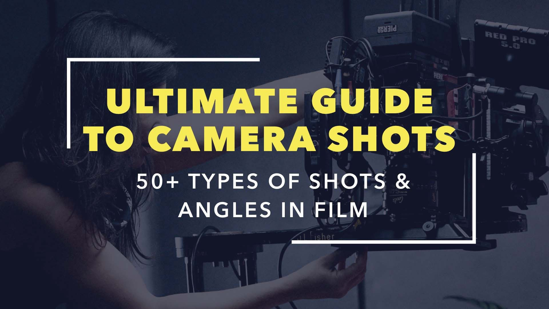 The Ultimate Guide To Camera Shots Over 50 Types Of And Angles In Film