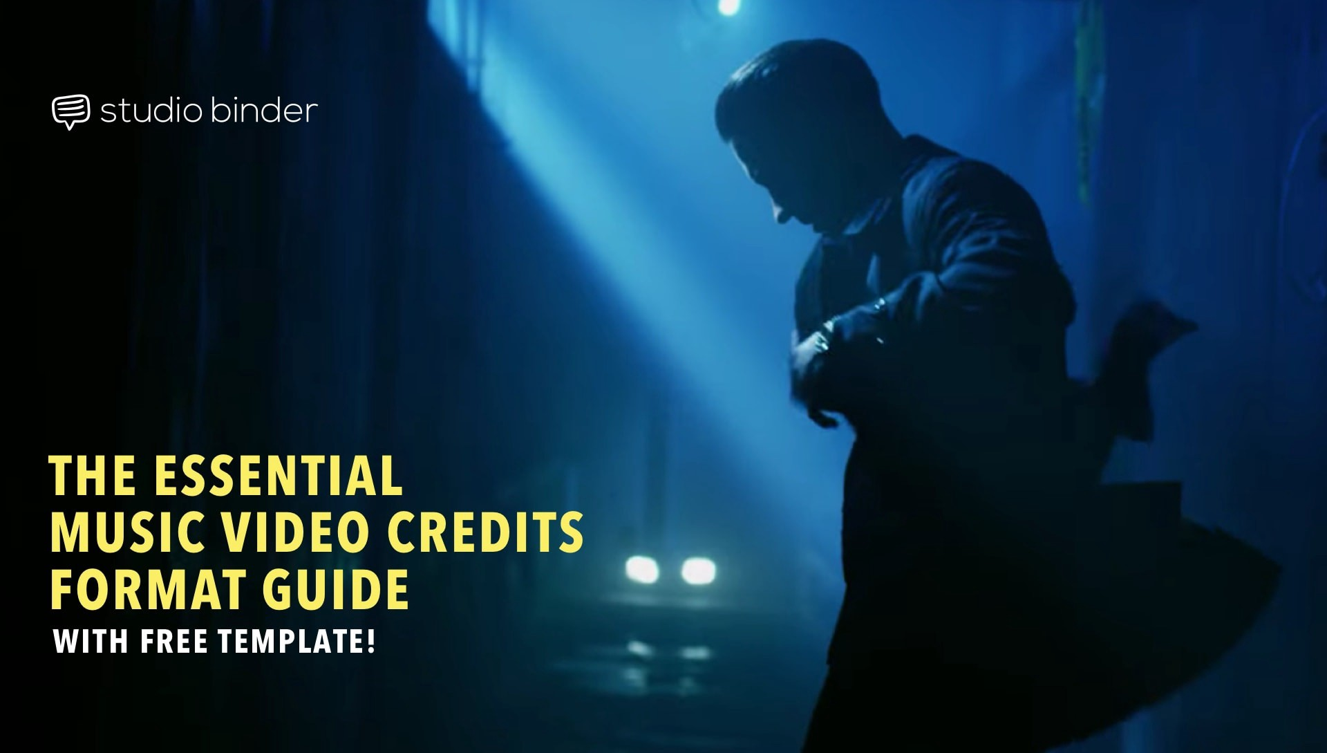 The essential music video credits format guide with free template maxwellsz