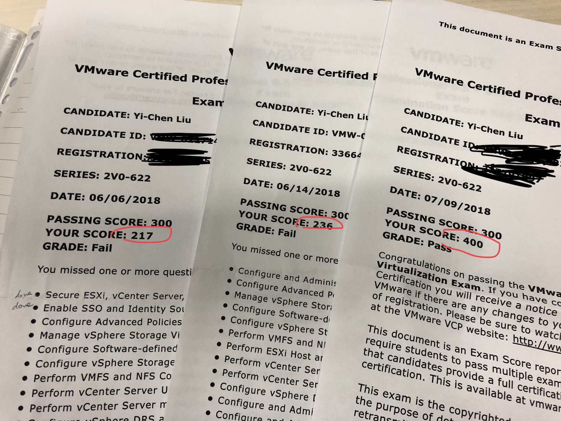 My first vcp certification tips and tricks for vmware beginner malvernweather Choice Image