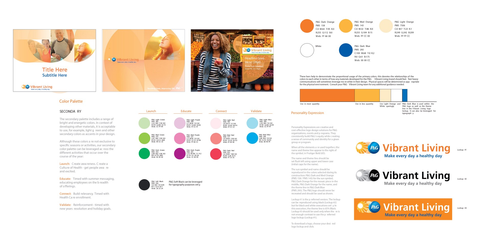 Vibrant Living Brand Identity U2013 Nicholas Fields U2013 Medium