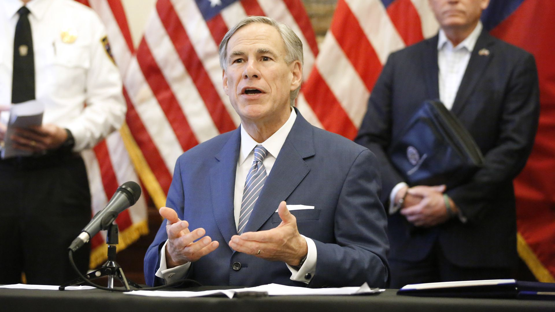 Governor of Texas finally wakes up, when will some others??