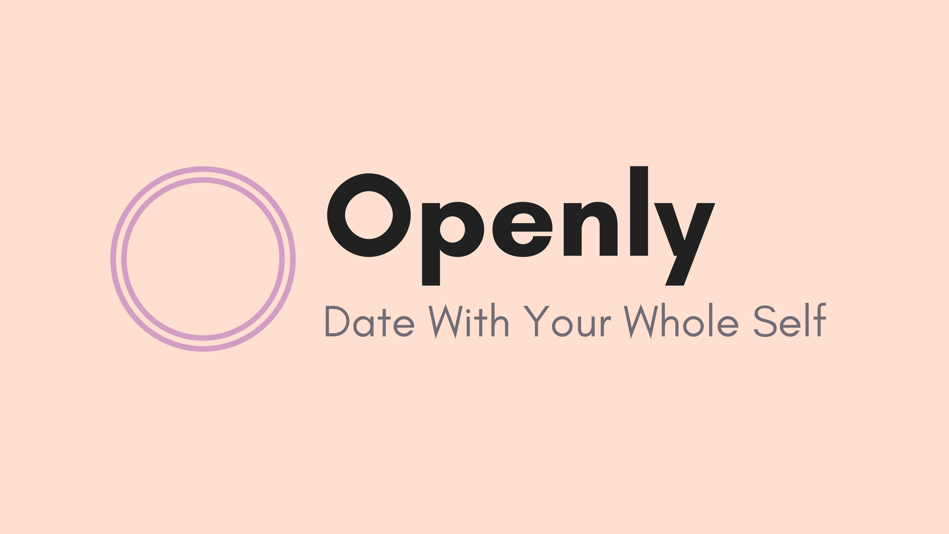 Dating openly