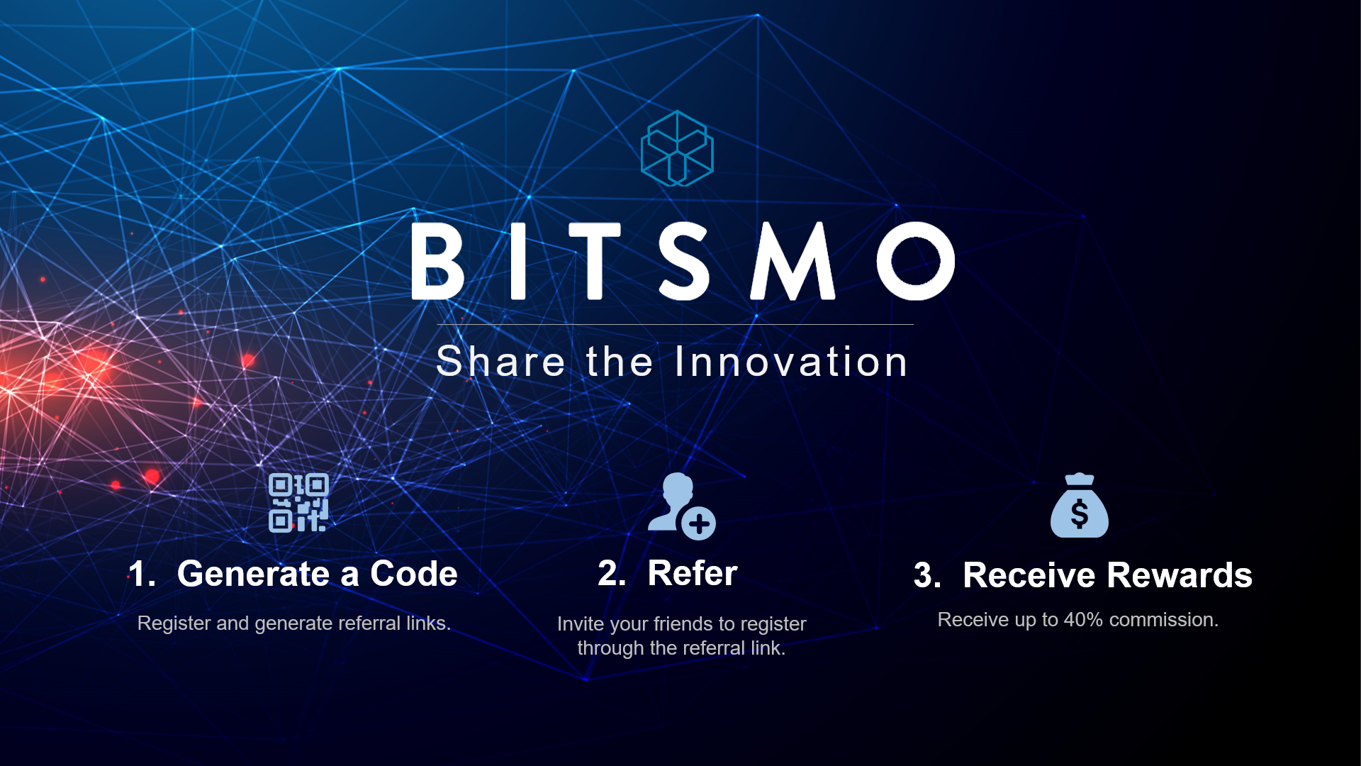 Bitsmo's Referral Program (Up to 40% Commission) – Bitsmo – Medium