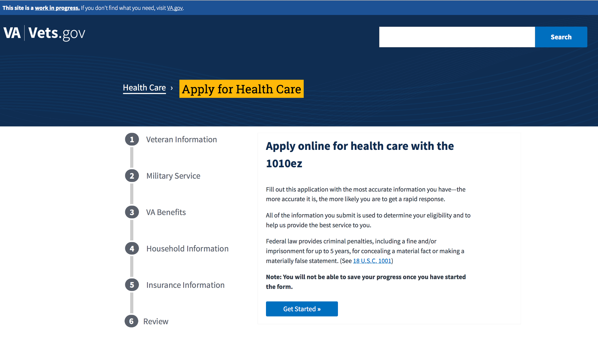 Introducing a new digital application for health care at VA