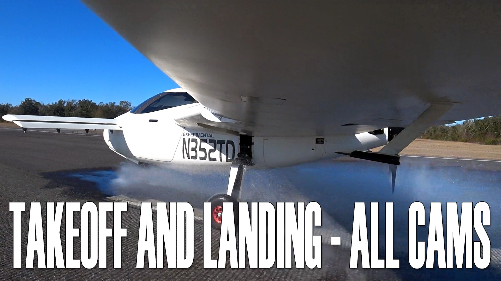 Takeoff and Landing?—?All Cameras