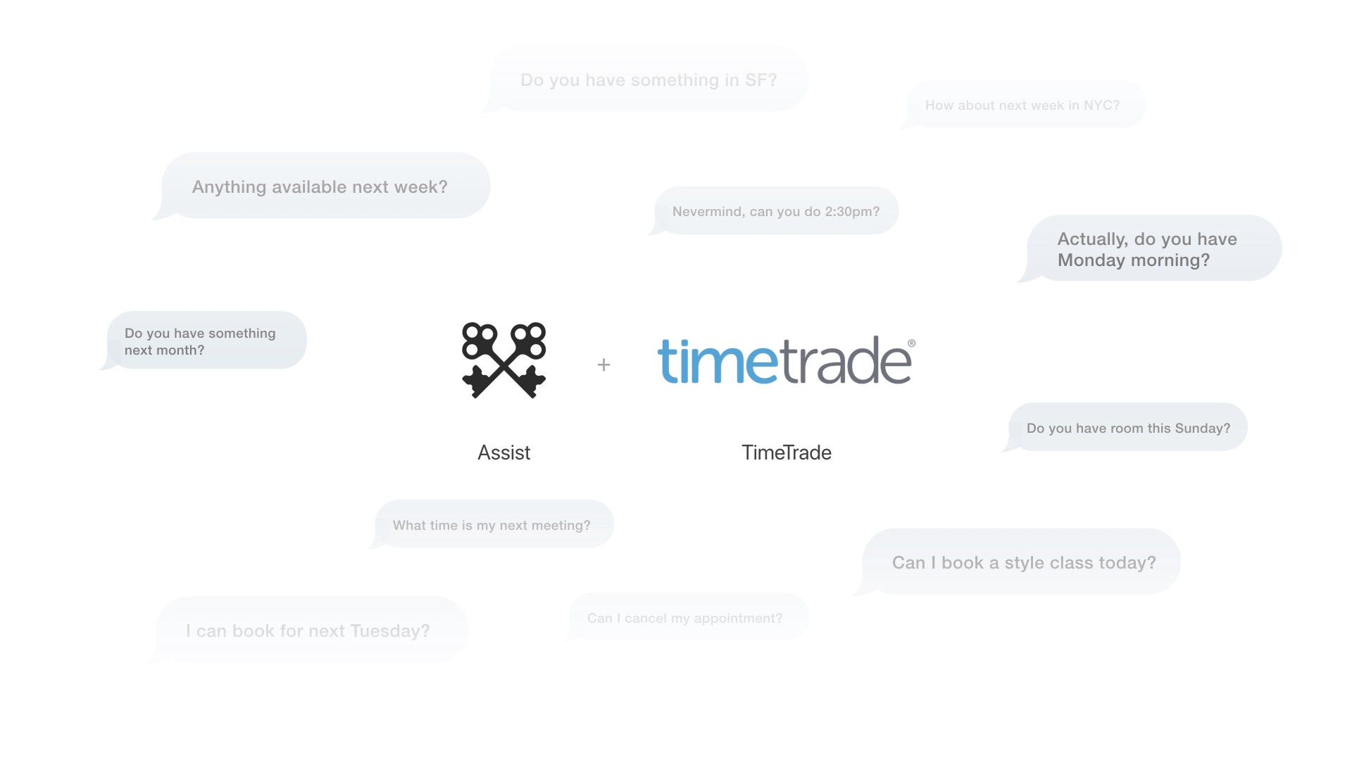 time becomes money with assist/timetrade partnership