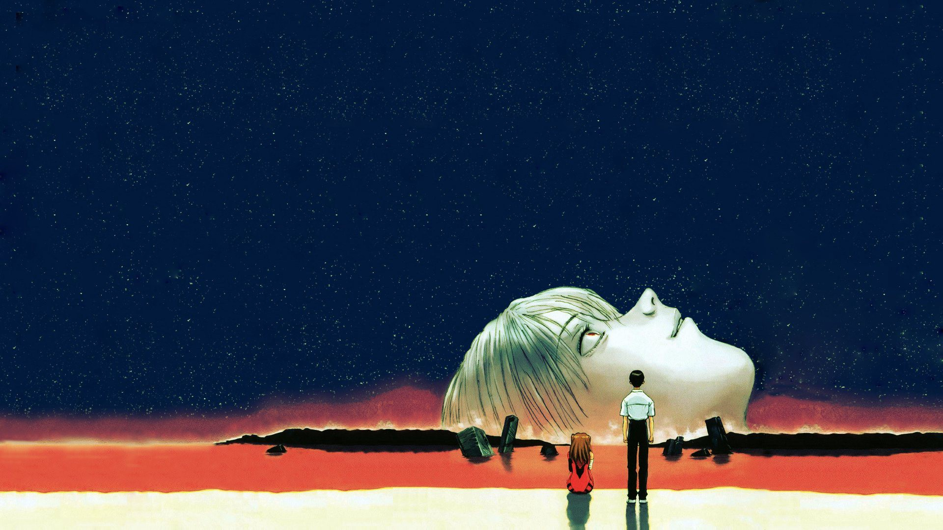 Neon Genesis Evangelion By The Numbers Dot And Line