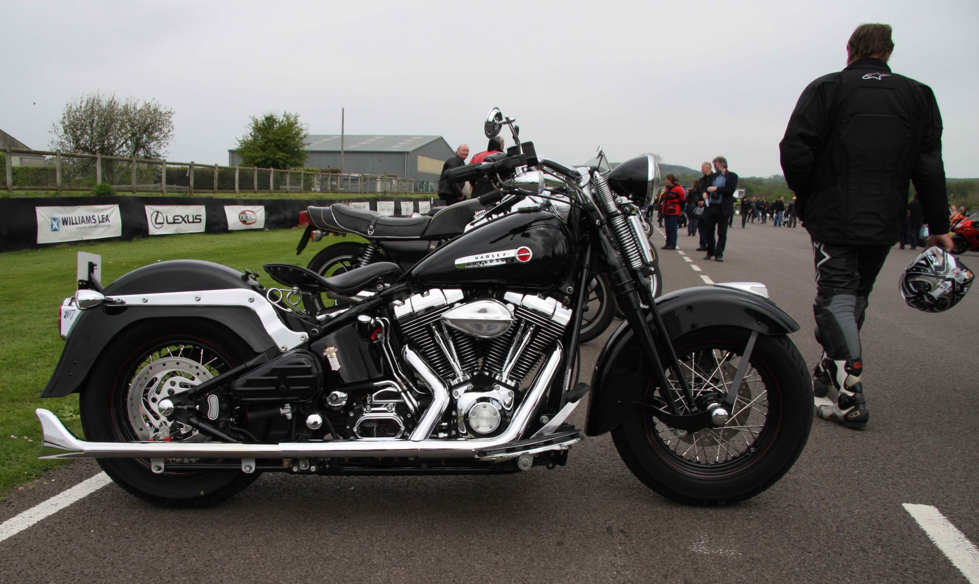 1980 Harley Davidson Ironheadroyal Enfield Custom James Q