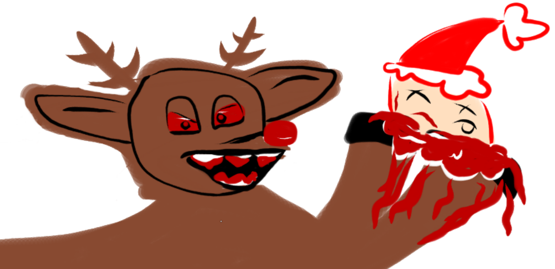 rudolph the red nosed reindeer is evil talia jane medium