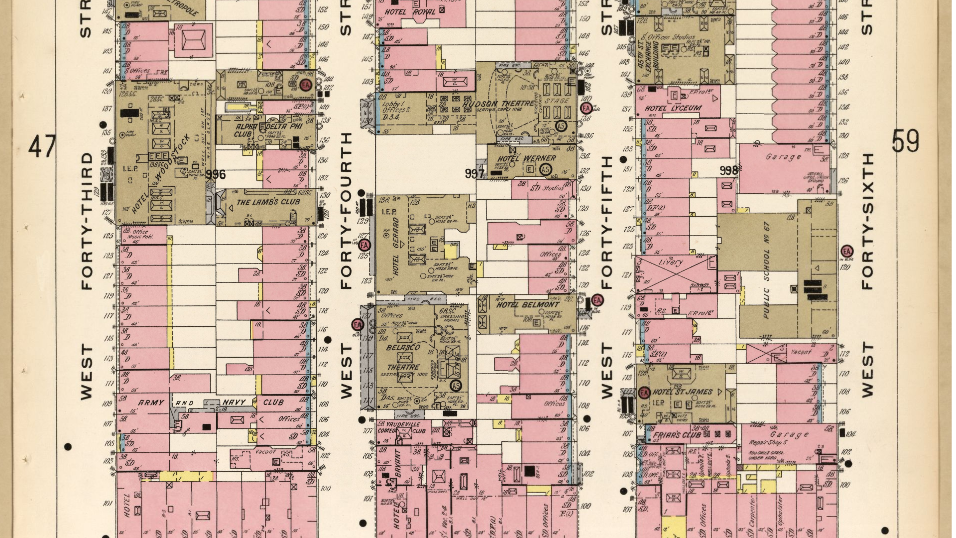 Sanborn Fire Map.Mapping The U S Block By Block Library Of Congress Medium