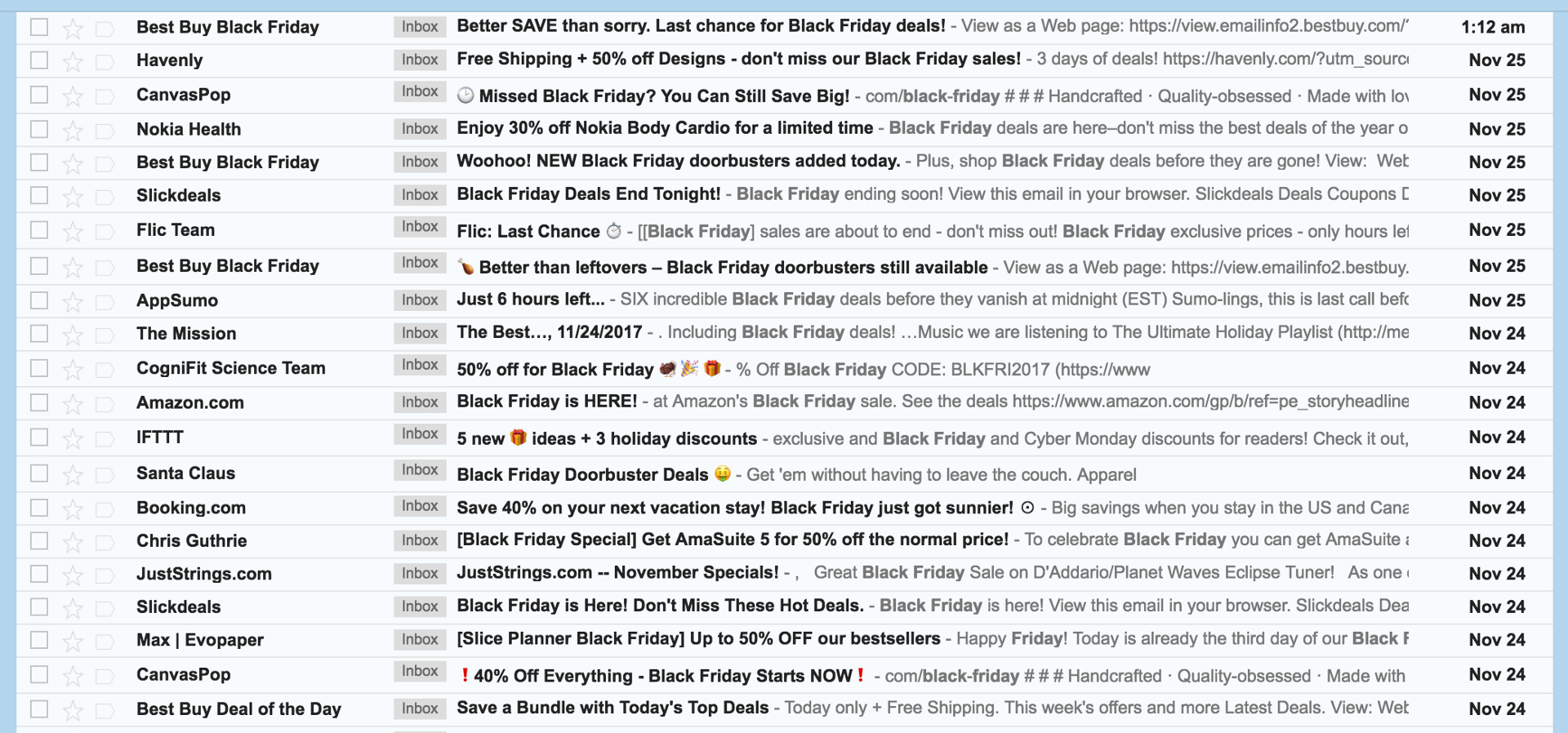 I hate Black Friday. Please stop spamming me. – The Startup – Medium
