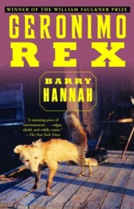Barry Hannah rex