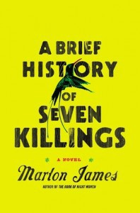 Marlon James book cover