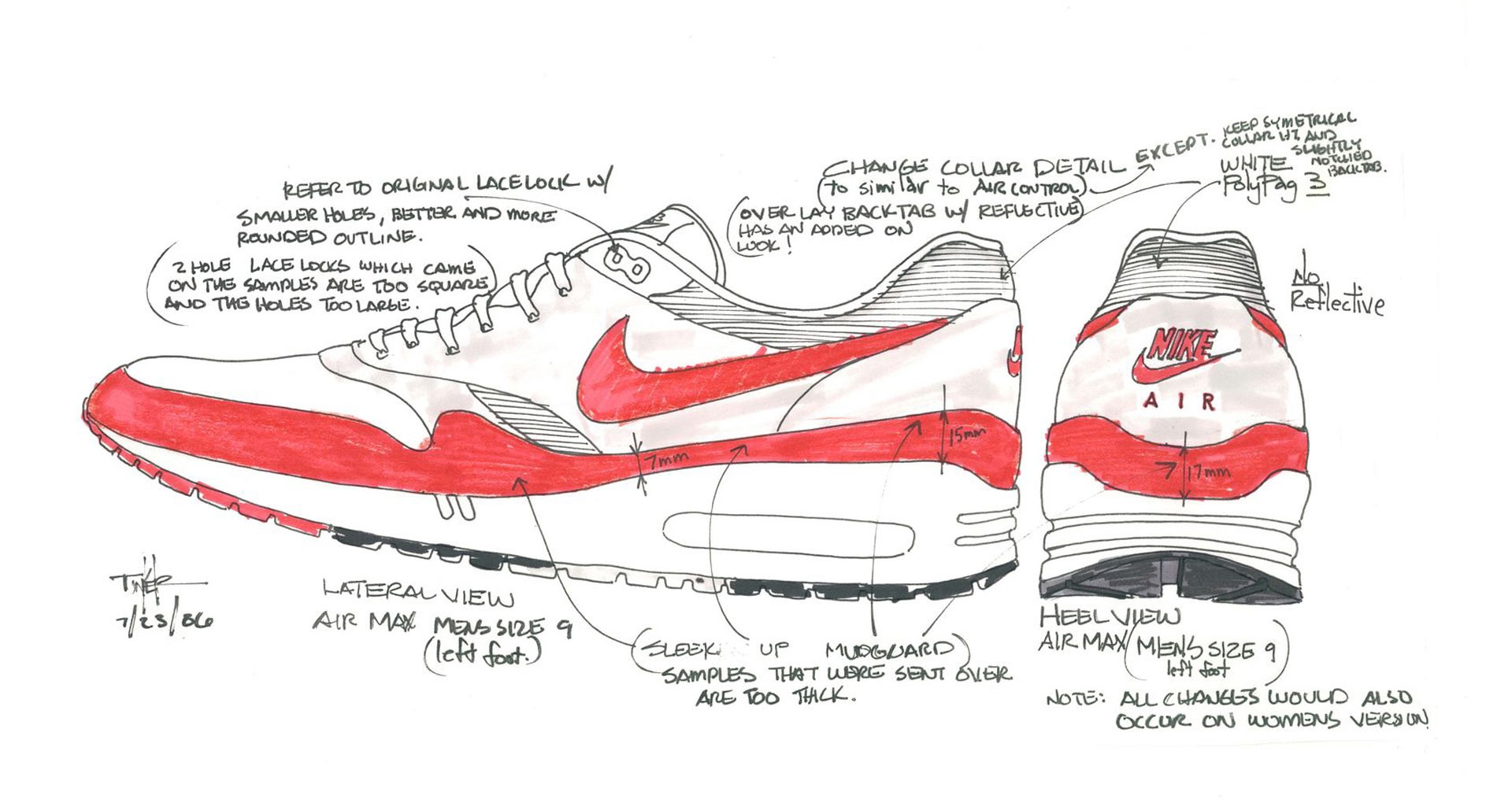 Behind The Design Of The Air Max 1, Created By World Renowned Designer,  Tinker Hatfield